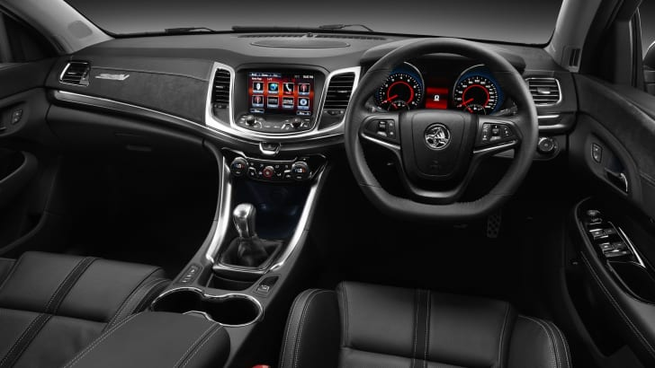 Holden VF Commodore SS V interior