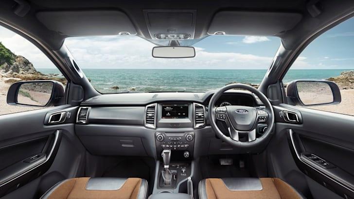2015 Ford Ragner Wildtrak - Interior dash