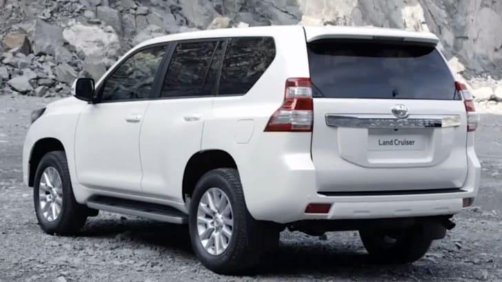 2014 Land Cruiser Prado Facelift Leaked - 4