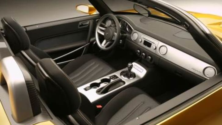 Dodge Demon Concept Interior
