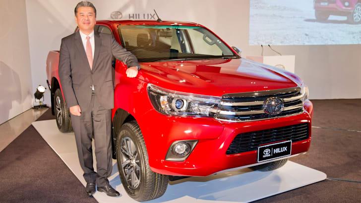 Hiroki Nakajima Toyota HiLux chief engineer