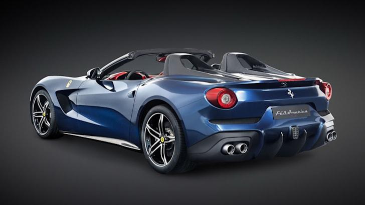 Ferrari F60 America - rear
