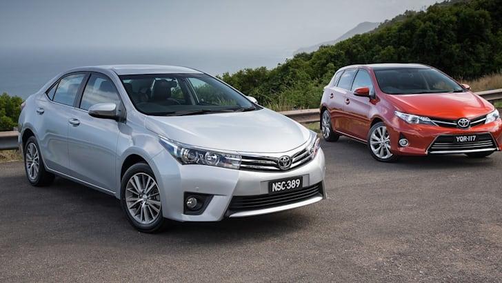 2014 Toyota Corolla ZR sedan and hatch