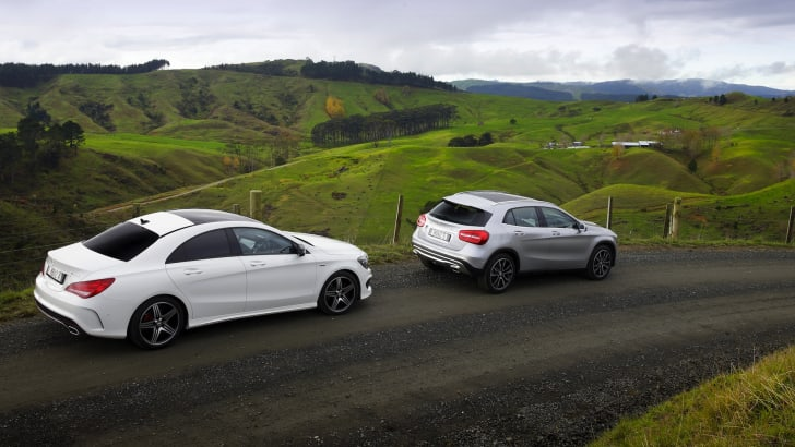 Mercedes-Benz CLA250 Sport 4MATIC and GLA250 Sport 4MATIC