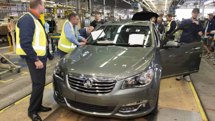 Holden Manufacturing Elizabeth SA - 1
