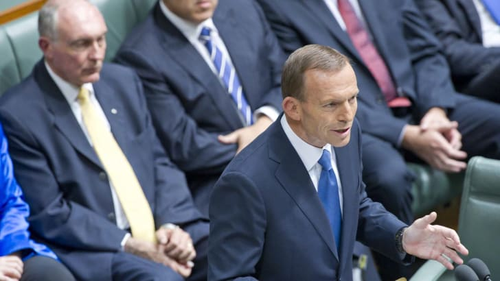 The Honourable Tony Abbott MP, Leader of the Opposition,Budget Reply Speech Parliament House Canberra.