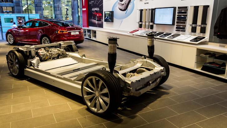 Tesla Model X peek at Sydney flagship store opening-16