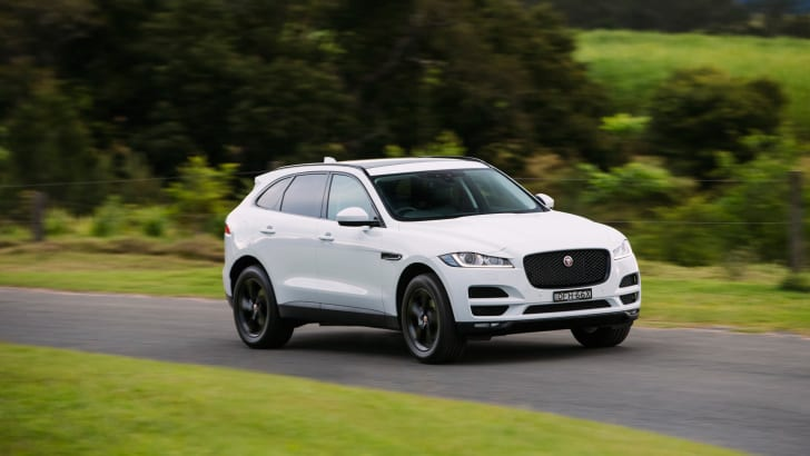 2016 Jaguar F-Pace Review Australia