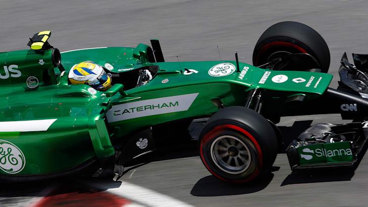 Caterham F1 car at Circuit Gilles Villeneuve, Montreal
