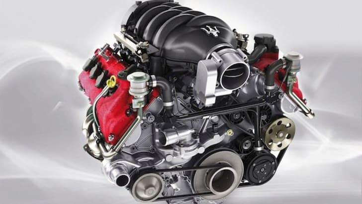 Maserati GranTurismo S - Engine 2