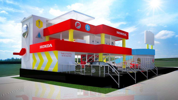 Honda's Goodwood Festival of Speed Stand Revealed