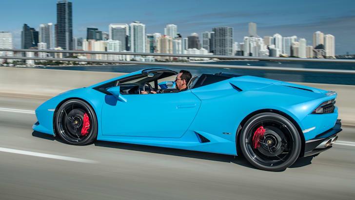 Lamborghini Huracan Spider USA CA