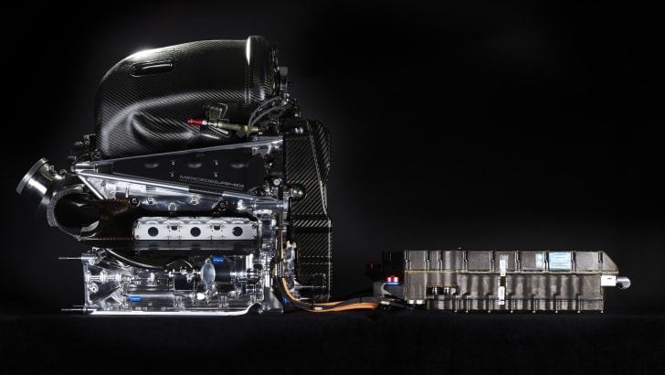 Mercedes F1-W07-Hybrid-Engine-1
