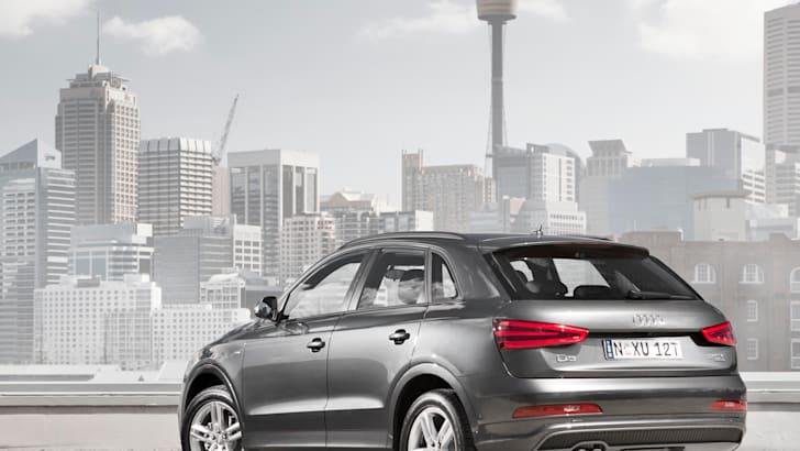 Audi Q3 city news rear
