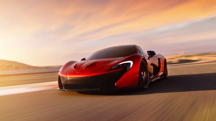McLaren P1 at BIC - 6