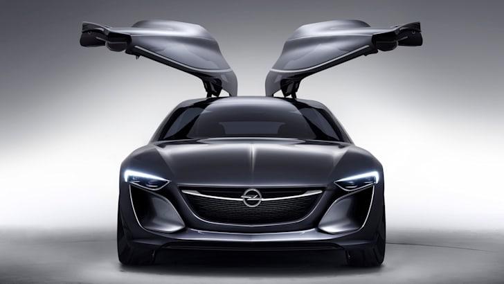 Opel-Monza-Concept-doors up