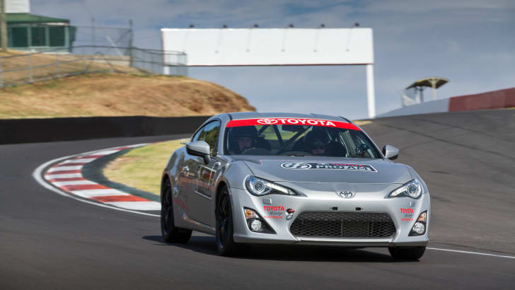 2015 Toyota 86 Pro-Am development car testing at Mount Panorama