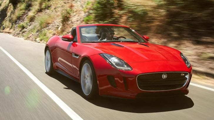 Jaguar F-Type Roadster - 7