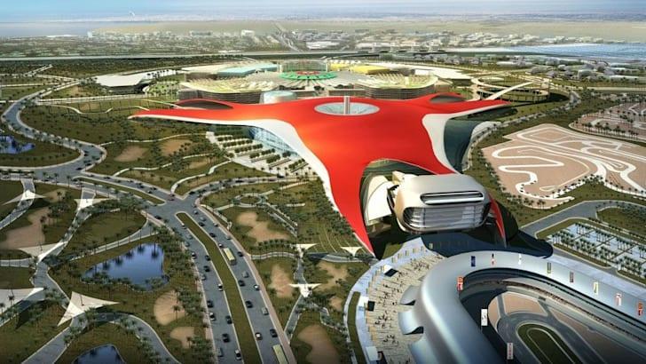 Abu-Dhabi-Ferrari-Theme-Park