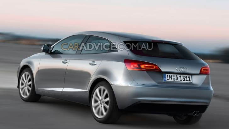 2011 Audi A3 illustrated