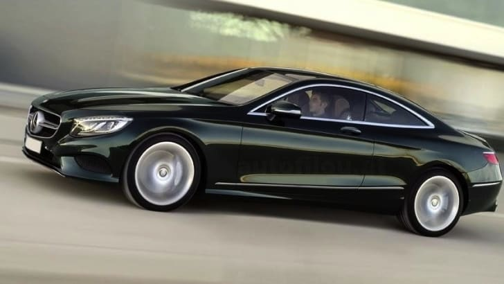 Mercedes-Benz S-Class Coupe - 1