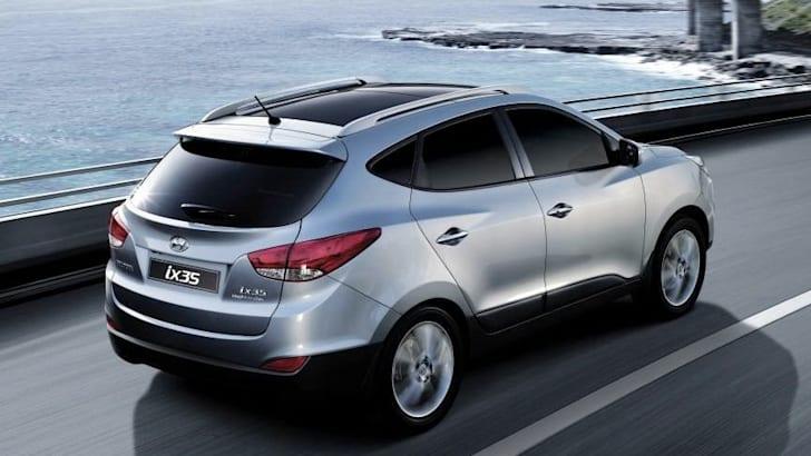 Hyundai ix35 - Back