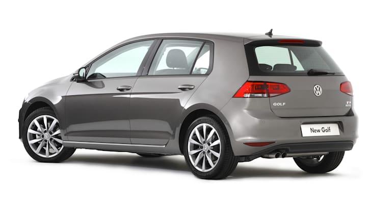 VW Golf 7 rear deep etch