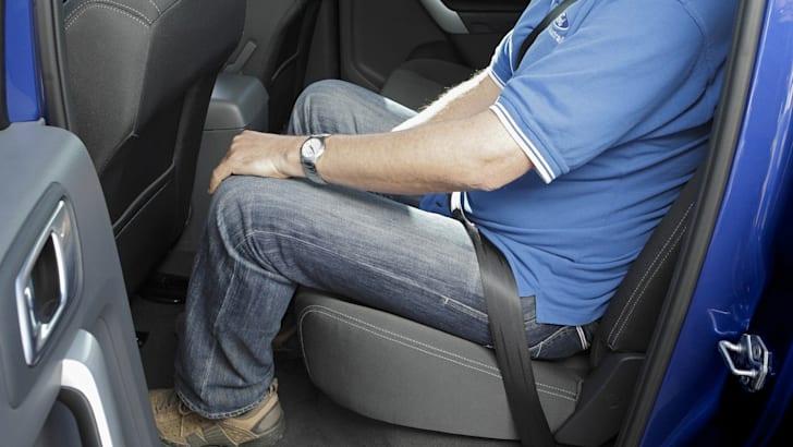 Ford Ranger - Rear Seat