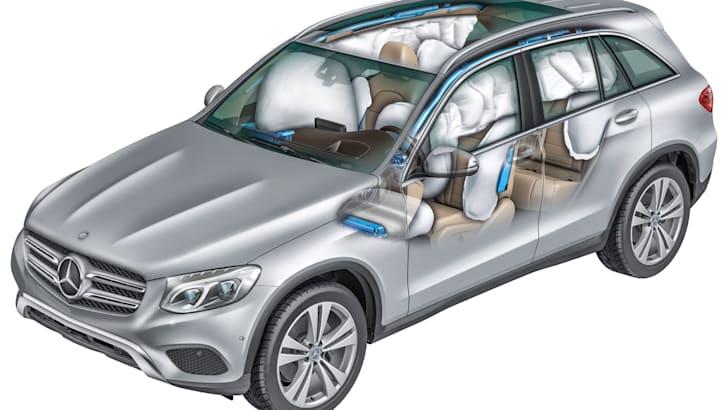 Mercedes-Benz GLC, Airbagsystem Mercedes-Benz GLC, Airbag system