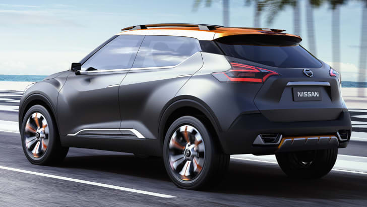 Nissan Kicks Concept - rear