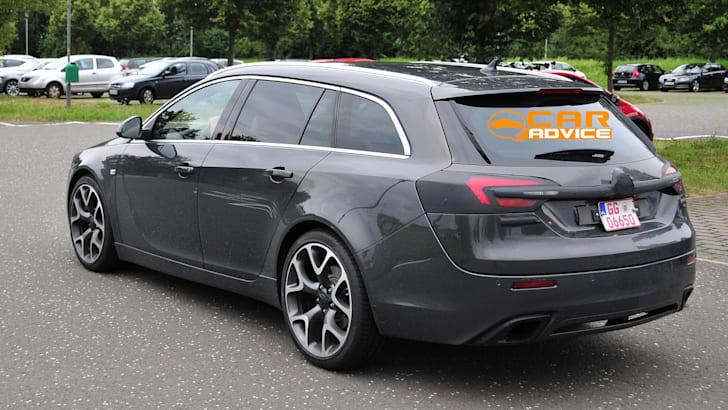 Opel Insignia OPC Wagon Spied - 4