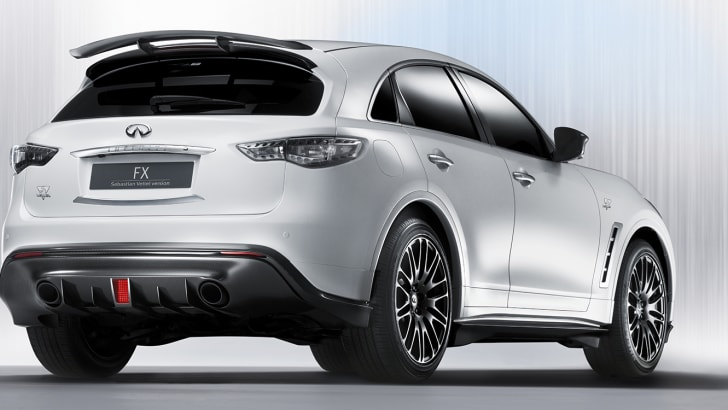ROLLE, Switzerland (1 September 2011) -- The perfect high-performance Infiniti Crossover -- designed by, and built for, Formula One World Champion Sebastian Vettel -- will make its debut in concept form at the 64th International Motor Show in Frankfurt on Tuesday 13 September.