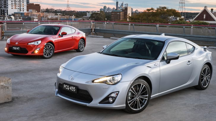 2014 Toyota 86 GTS and GT