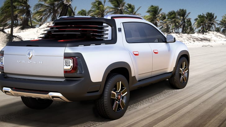 Renault Duster Oroch concept - rear