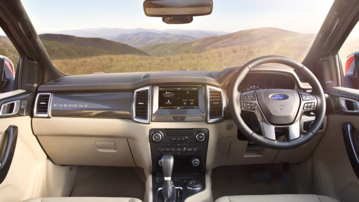 New Ford Everest_Interior2