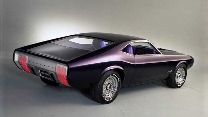 Ford Mustangs That Never Were: 1970 Mustang Milano concept