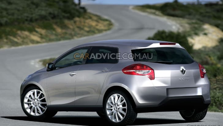2011 Renault Clio illustrated