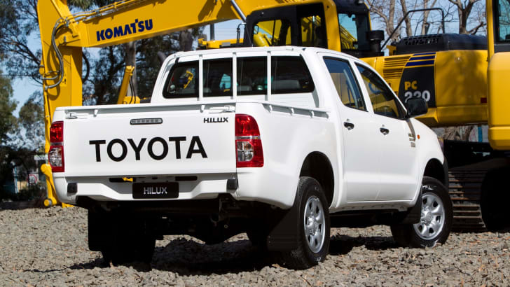 2011 Toyota HiLux WorkMate Double Cab 4x4 Turbo Diesel