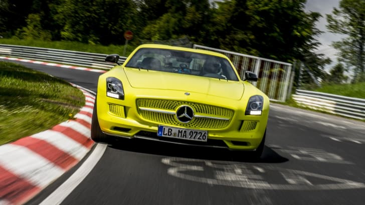 SLS AMG Coupé Electric Drive