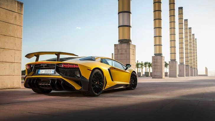 Lamborghini Aventador SV77