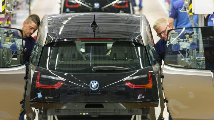 Produktion BMW i3 in Leipzig