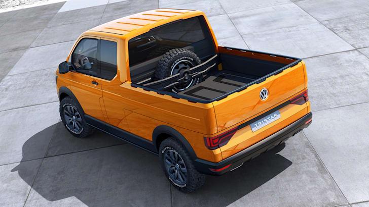 Volkswagen Tristar concept - tray