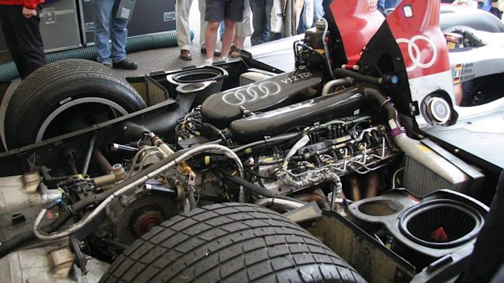 Audi R10 engine