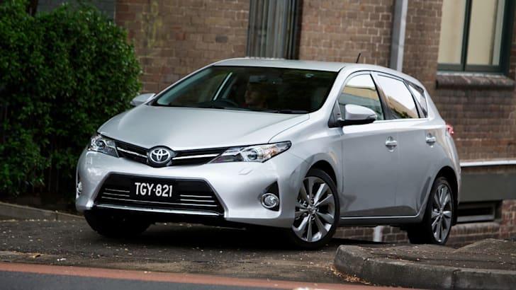 2012 Toyota Corolla Levin ZR