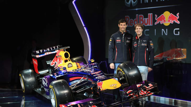 Red Bull team pic