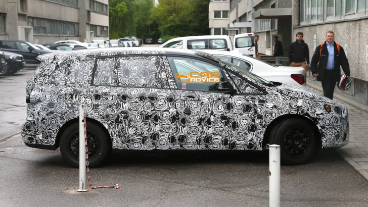 BMW 1 GT Seven-seater Spied - 2