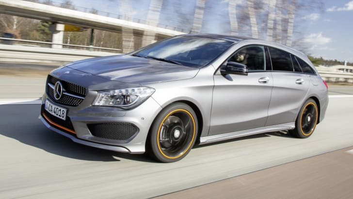 Mercedes-Benz Driving Launch CLA Shooting Brake; CLA 45 AMG Shooting Brake Frankfurt März 2015