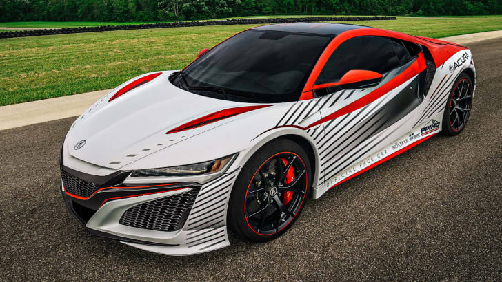 Second generation Acura NSX 2015 Pikes Peak pace car