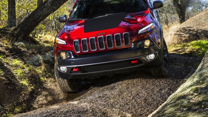 Jeep Cherokee Trailhawk off road
