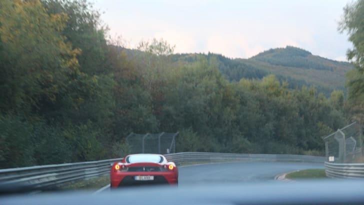 The Nurburgring expreinece: Renualt Megane RS26542